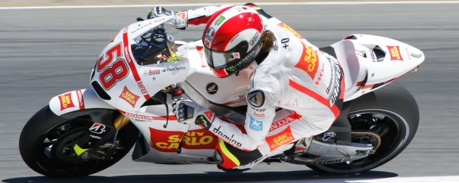 Moto Memorial in memory of Marco Simoncelli